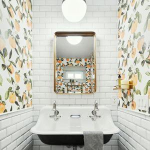 10 Ways To Use Wallpaper in Your Bathroom