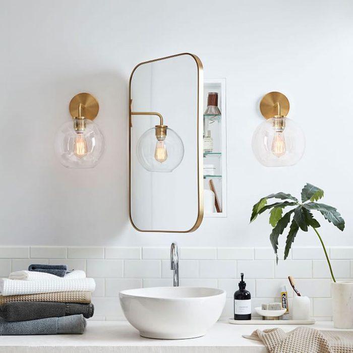 Seamless Medicine Cabinet Mirror